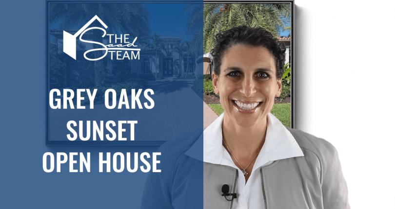 Grey Oaks Sunset Open House Tour