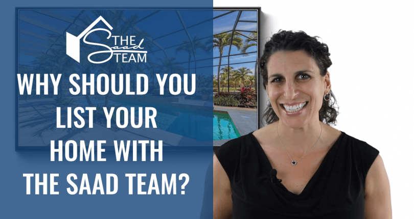 Why should you list with The Saad Team?