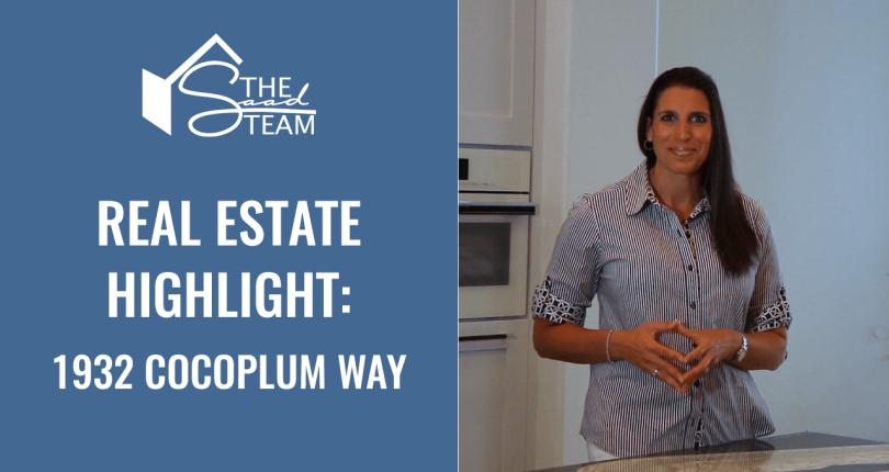 Real Estate Highlight: 1932 Cocoplum Way