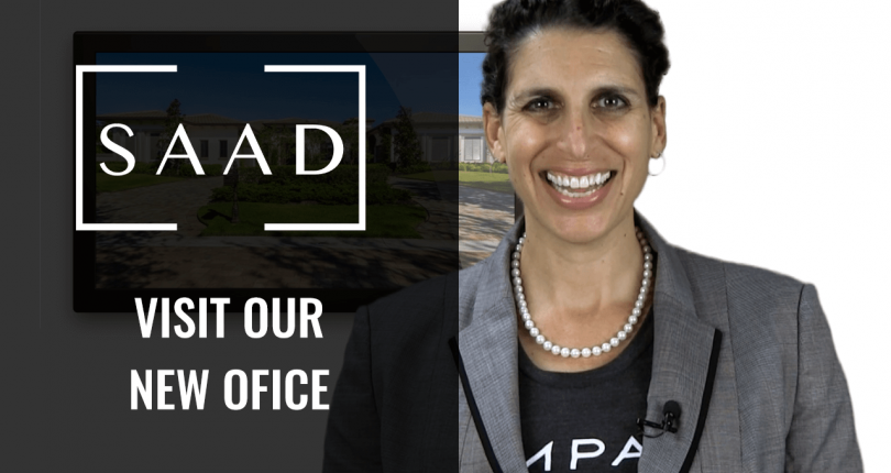 The Saad Team Offices Have Moved