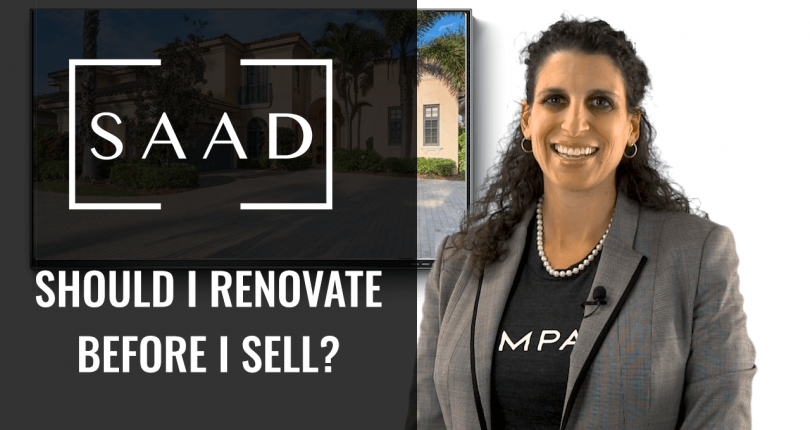 Should I Renovate Before I Sell My Home?